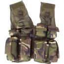 Kids Assault Vest Soldier Military Army Jacket DPM Camo
